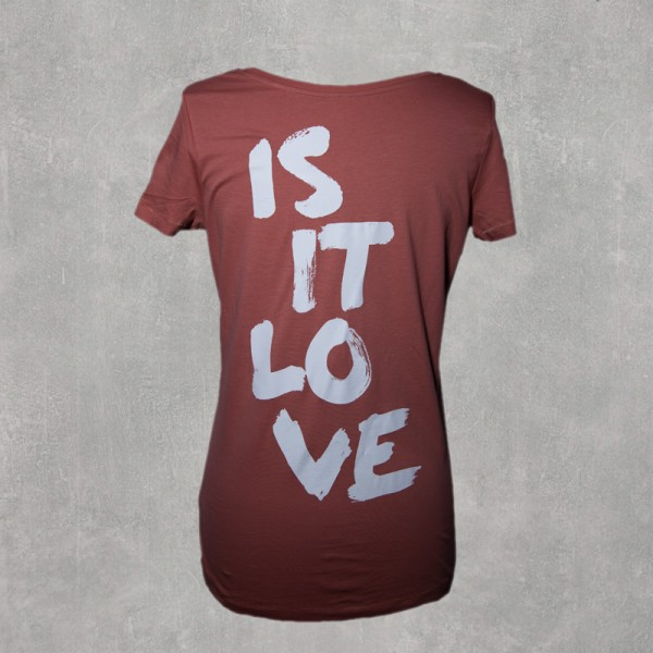 IS IT LOVE? Girlie Shirt